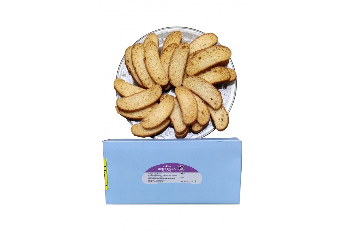 Rusking Baby Rusk - 110gms (pack of 2)